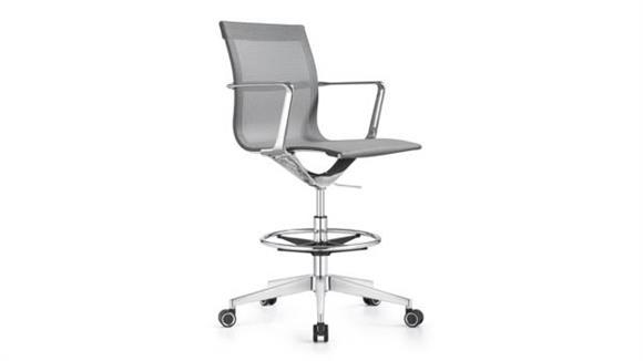 Office Chairs Woodstock Mesh Swivel Stool
