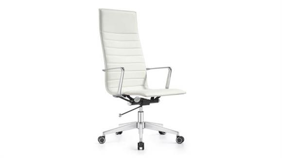 Office Chairs Woodstock High Back Leather Swivel Chair