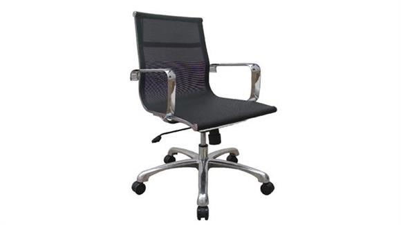 Office Chairs Woodstock Baez Mid Back Mesh Chair