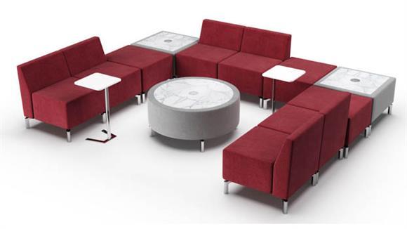 Accent Chairs Woodstock U Shape Configuration Lounge