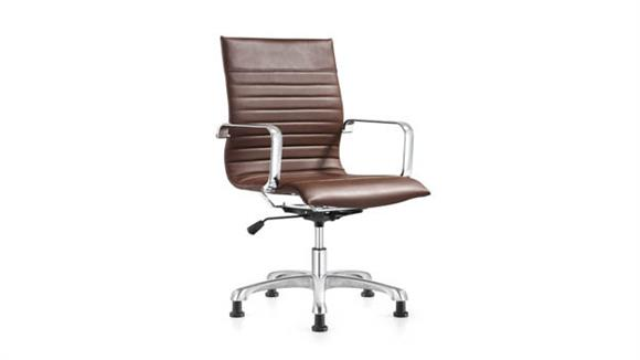 Office Chairs Woodstock Leather Side Chair