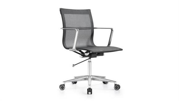 Office Chairs Woodstock Mid Back Mesh Swivel Chair