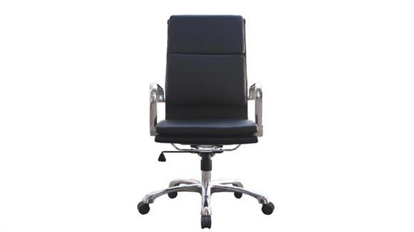 Office Chairs Woodstock Hendrix High Back Leather Chair