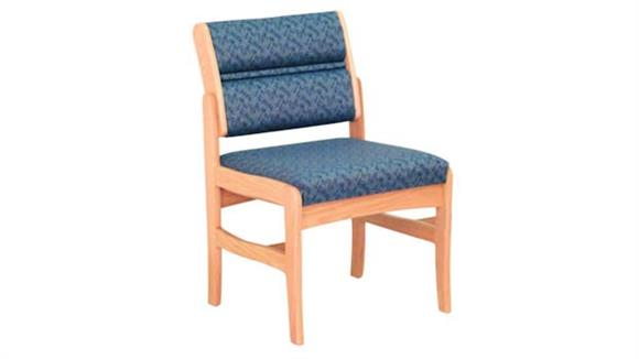 Side & Guest Chairs Wooden Mallet Single Standard Leg Armless Chair