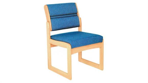 Side & Guest Chairs Wooden Mallet Sled Base Armless Chair