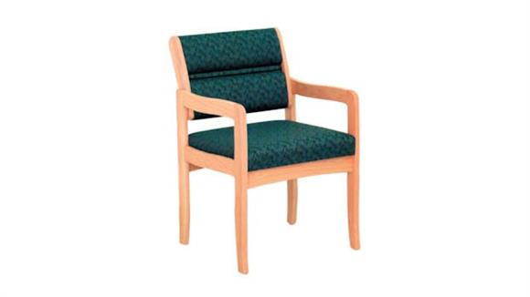 Side & Guest Chairs Wooden Mallet Single Standard Leg Chair