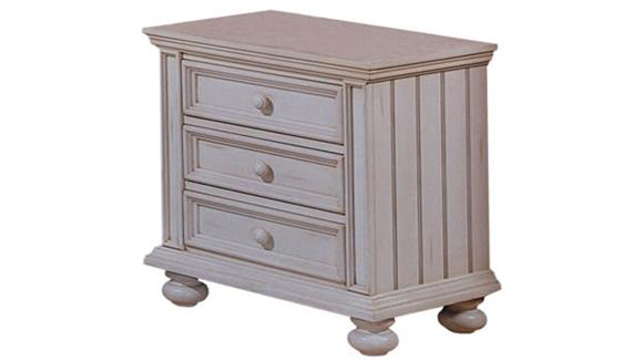 Night Stands Wilshire Furniture Solid Wood 3 Drawer Night Stand