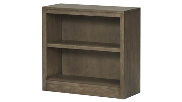 """Bookcases Wilshire Furniture 32"""" W x 30""""H Open Bookcase - Assembled"""
