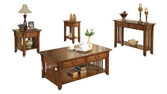 Occasional Tables Wilshire Furniture Zahara 4 Piece Occasional Table Set