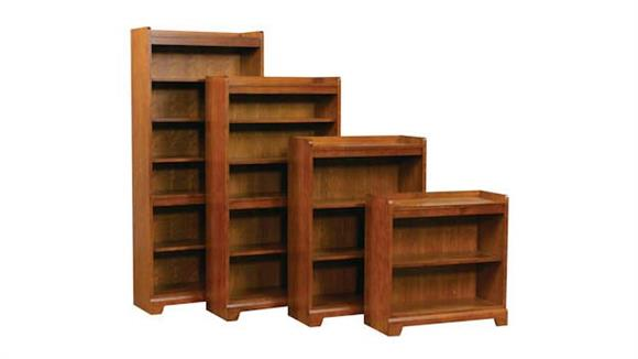 "Bookcases Wilshire Furniture Solutions 32""H Open Bookcase"