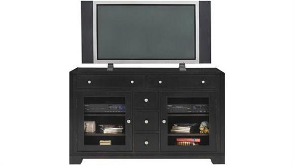 "TV Stands Wilshire Furniture 54"" Espresso TV Stand"