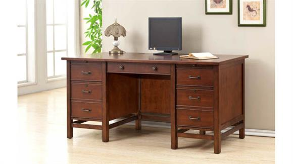"Executive Desks Wilshire Furniture 66""W Executive Desk"