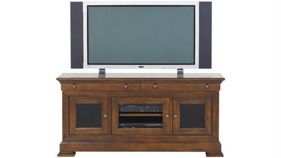 "TV Stands Wilshire Furniture 54"" Walnut TV Stand"