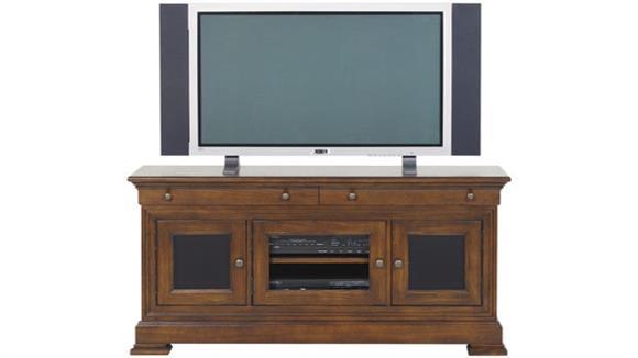 "TV Stands Wilshire Furniture 54"" Walnut TV Stand"