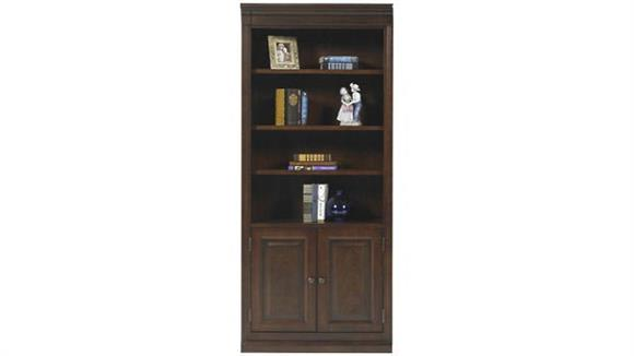 "Bookcases Wilshire Furniture 32""W x 15""D x 78.5""H  Bookcase with Doors"