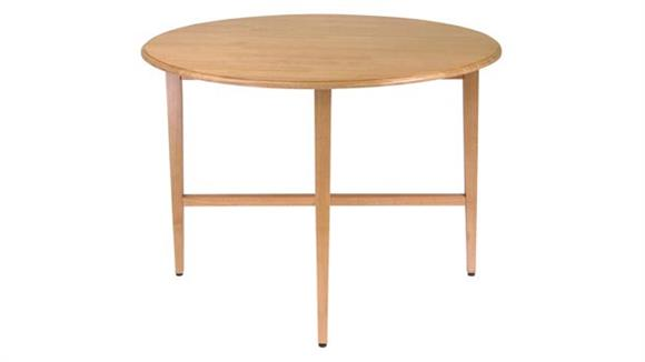 "Dining Tables & Sets Winsome 42"" Round Double Drop Leaf Gate Leg Table"