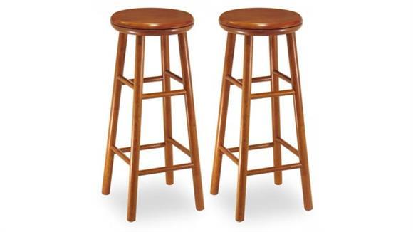 "Bar Stools Winsome 29"" Swivel Bar Stool - Set of 2"