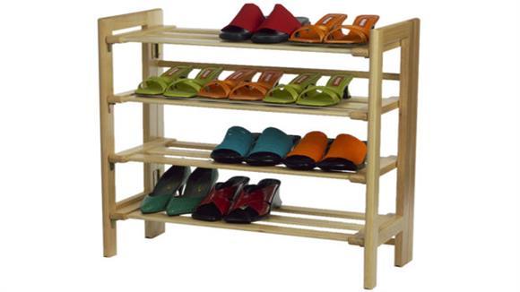Closet Storage & Organizers Winsome 4 Tier Shoe Rack