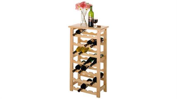 Wine Storage Winsome 28 Bottle Wine Rack