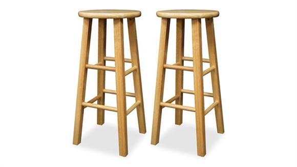 "Bar Stools Winsome 29"" Bar Stool Square Leg - Set of 2"