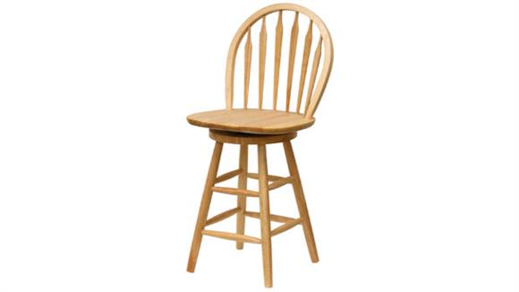 """Counter Stools Winsome 24"""" Windsor Swivel Stool"""