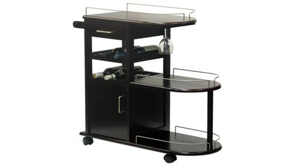 Kitchen Carts Winsome Entertainment Cart
