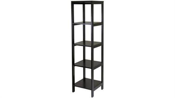 Audio Racks Winsome Hailey Tower Shelf