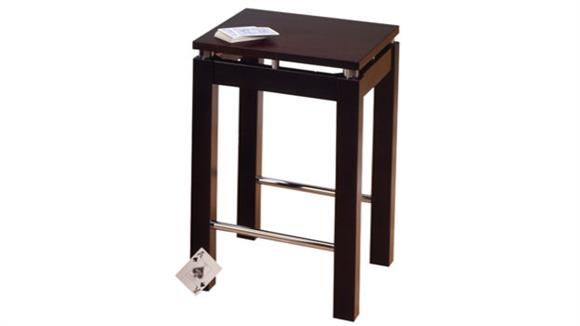 Counter Stools Winsome Linea Counter Stool with Chrome Accents
