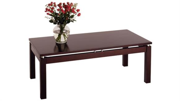 Coffee Tables Winsome Linea Coffee Table with Chrome Accents