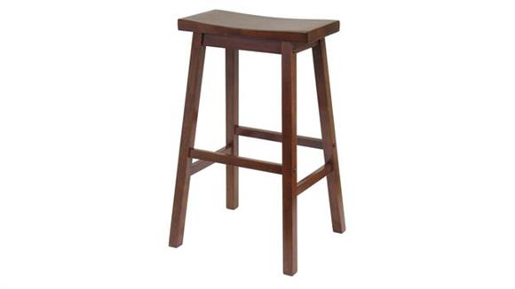 "Counter Stools Winsome Saddle Seat 29"" Stool"