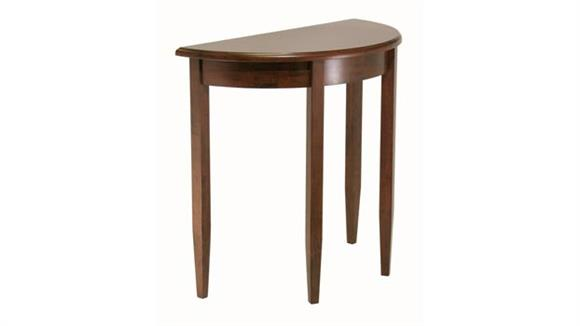 Accent Tables Winsome Concord Half Moon Accent Table