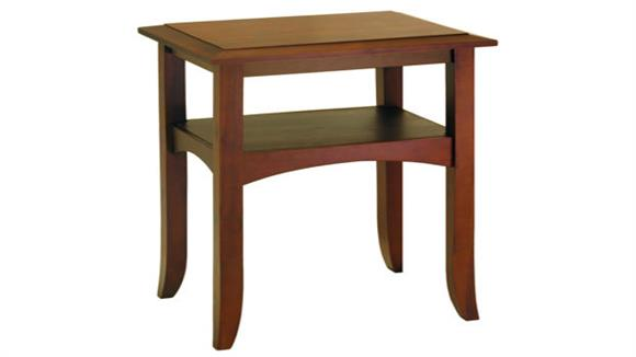 End Tables Winsome Craftsman End Table with Self