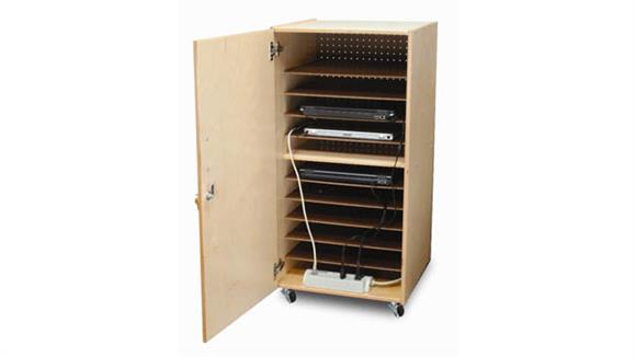 Storage Cabinets Whitney Brothers Laptop Security Cabinet