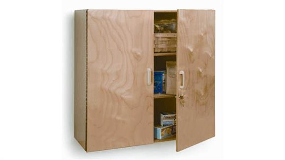 Storage Cabinets Whitney Brothers Lockable Wall Cabinet