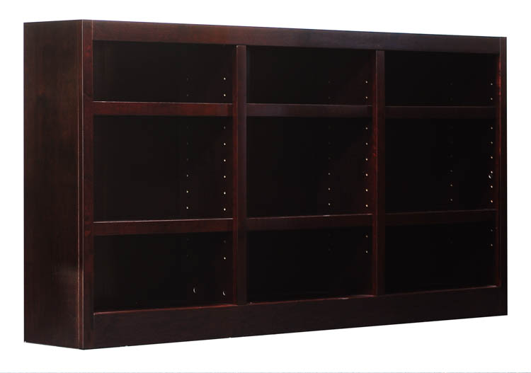 "72"" X 36"" Double Wide Bookcase By Concepts In Wood"