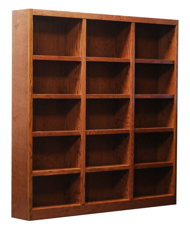 72 x 72 Double Wide Bookcase by Concepts in Wood