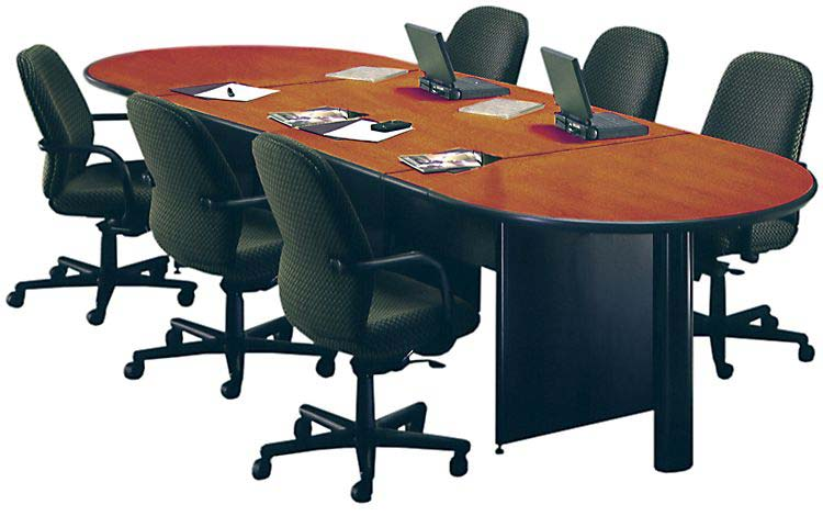 18' Oval Conference Table by Marvel