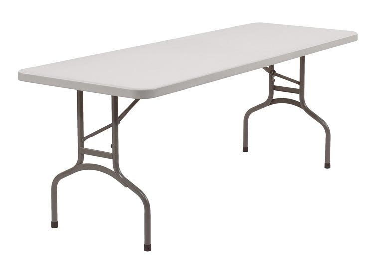 96 Lightweight Folding Table by National Public Seating