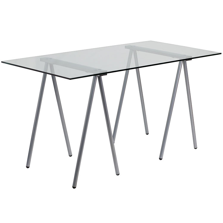 Glass Computer Desk by Innovations Office Furniture