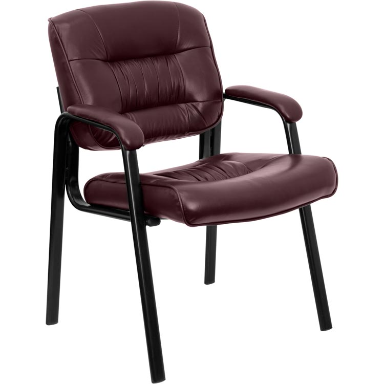 Leather Guest Chair by Innovations Office Furniture