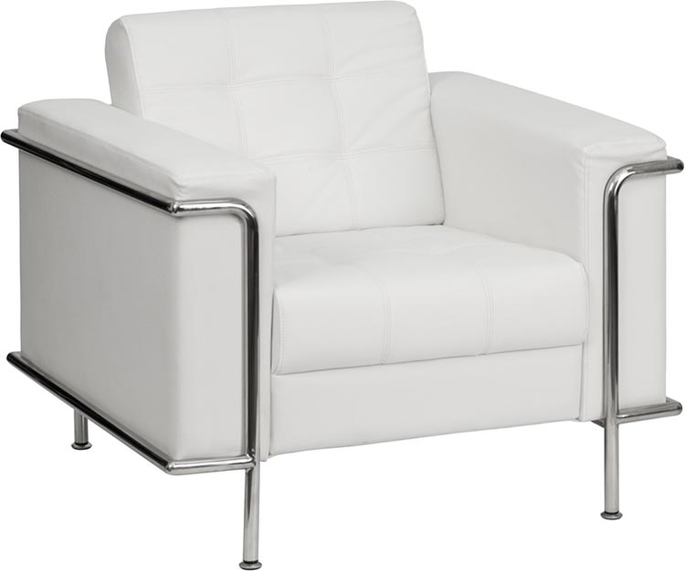 Leather Reception Chair by Innovations Office Furniture