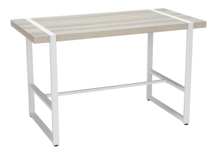 """48"""""""" Metal O-Frame Computer Desk by OFM -  1060-WHT-GTK"""