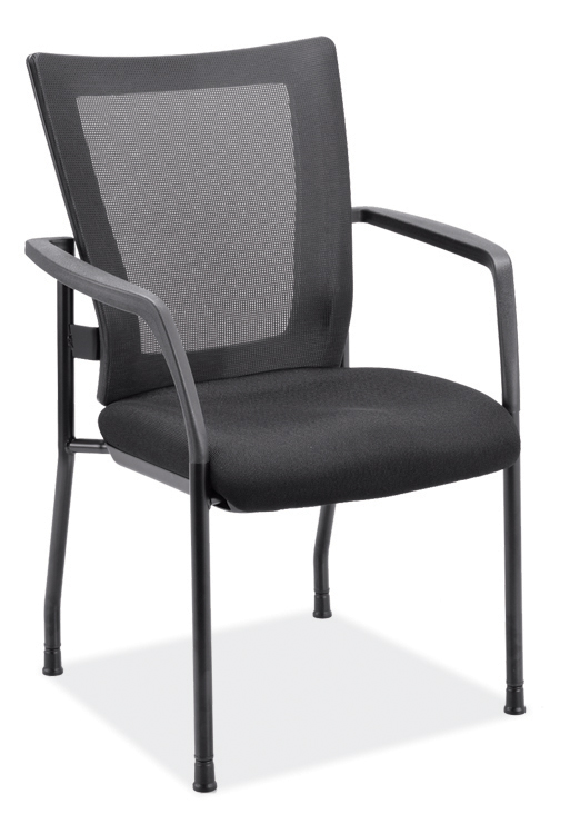 Mesh Back Stacking Chair by Office Source Office Furniture