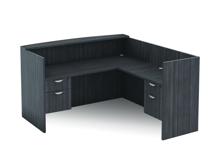 L Shaped Reception Desk by Office Source Office Furniture
