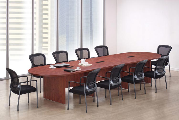 14' Racetrack Conference Table by Office Source Office Furniture
