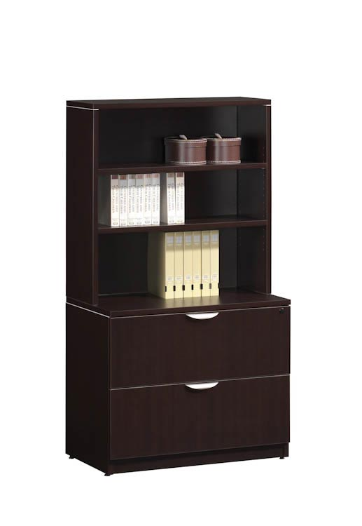 2 Drawer Lateral File With Hutch By Office Source Office Furniture