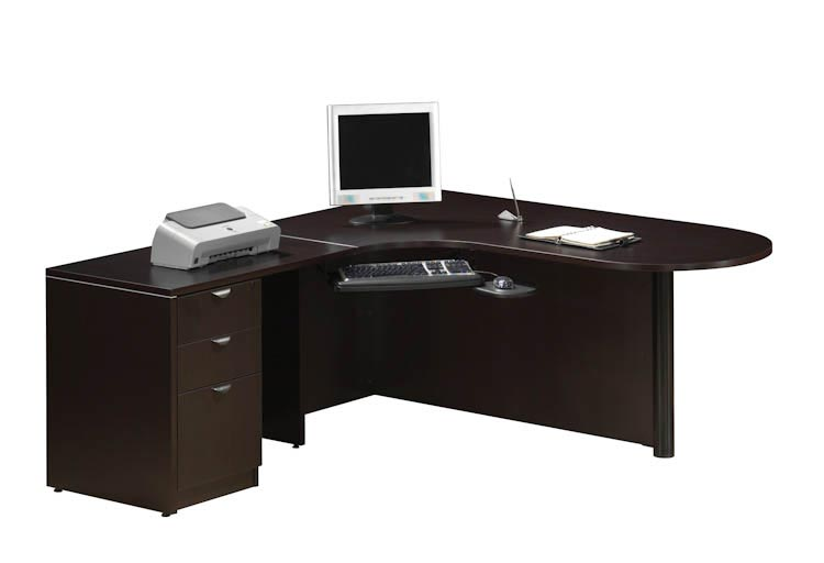 Bullet L Shaped Desk by Office Source Office Furniture