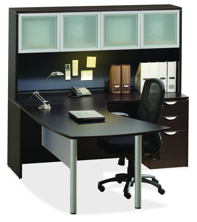 Corner Desk with Hutch by Office Source Office Furniture