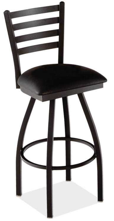 Ladder Back Swivel Barstool by Office Source Office Furniture