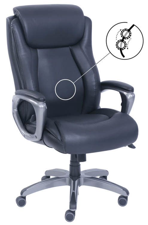 Executive High Back Massage Chair by Office Source Office Furniture